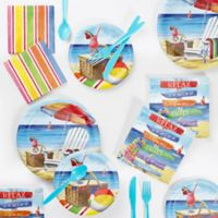 Creative Converting™ Breezy Beach 72-Piece Party Supplies Kit