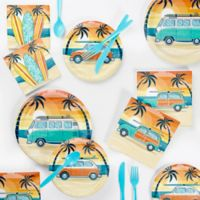 Creative Converting™ Summer Surfing 72-Piece Party Supplies Kit
