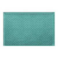 "Weather Guard™ Aqua Shield Gems 23"" x 36"" Door Mat in Aquamarine"