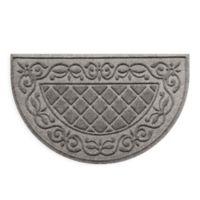 """Weather Guard™ Tristan 24"""" x 39"""" Door Mat in Grey"""