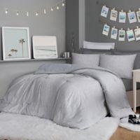 Christian Siriano® Jasper 3- Piece Full/Queen Comforter Set in Grey