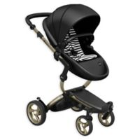 Mima® Xari Champagne Chassis Stroller in Black/Black and White