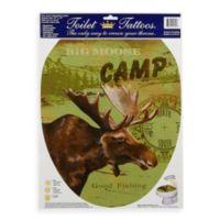 Toilet Tattoos® Moose Lodge in Elongated