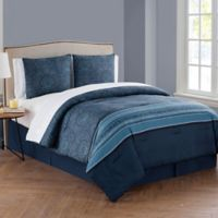 VCNY Home Marquesa King Comforter Set in Navy
