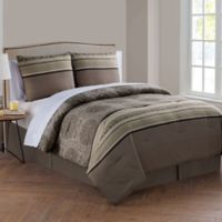 VCNY Home Marquesa Queen Comforter Set in Taupe