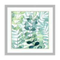 Amanti Art Gossamer Palms I by Grace Popp 26-Inch. W x 26-Inch. H Framed Art