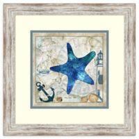 Amanti Art Nautical Starfish by Jill Meyer 18-Inch. W x 18-Inch. H Framed Art