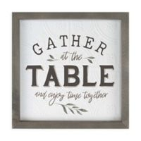 Gather at the Table Canvas Wall Art