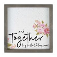 Together They Built Canvas Wall Art