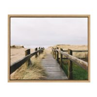 """Uniek """"You are Here"""" Framed Canvas Wall Art"""