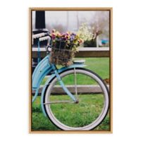 "Uniek ""One For The Road"" Framed Canvas Wall Art"