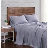 Brooklyn Loom Linen King Sheet Set in Grey