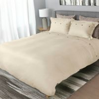Tempur-Pedic® Cool Luxury King Duvet Cover in Sand
