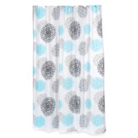 Carnation Home Fashions Isabelle Shower Curtain