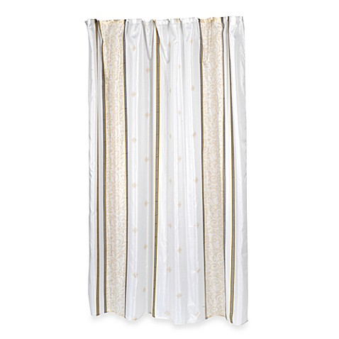 Ashley 70 Inch X 84 Inch Fabric Shower Curtain