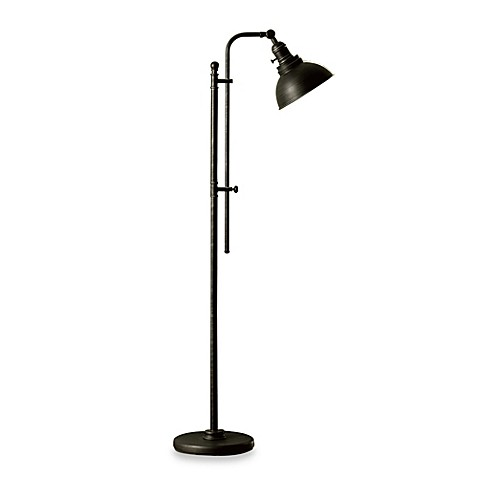 Bleeker Adjustable Cfl Floor Lamp Bed Bath Amp Beyond