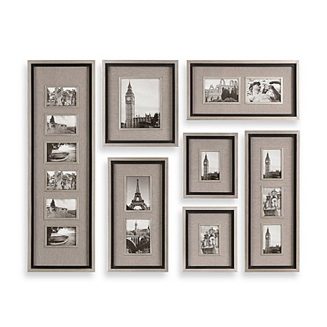 Uttermost Massena 7 Piece Picture Frame Collage Bed Bath