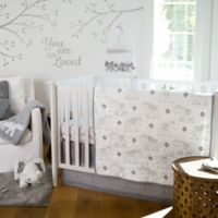 Levtex Baby® Elephant Parade 5-Piece Crib Bedding Set in White/Grey