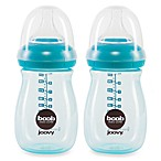 Joovy® Boob 9-Ounce Baby Bottle in Turquoise (2-Pack)