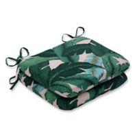 Pillow Perfect Swaying Palms Capri Round Seat Cushion