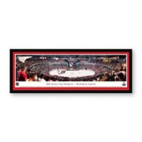 NHL Washington Capitals 2018 Stanley Cup Panoramic Hockey Arena Print with Select Frame