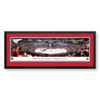 NHL Washington Capitals 2018 Stanley Cup Panoramic Hockey Arena Print with Deluxe Frame
