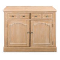 Home Styles Cambridge Kitchen Island in White