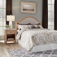 Home Styles Cambridge Queen Headboard & Nightstand in White Wash