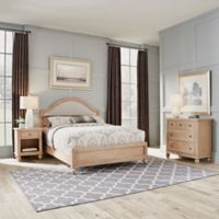 Home Styles Cambridge Queen Bed, Chest & Nightstand in White Wash
