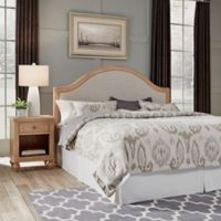 Home Styles Cambridge King Headboard & Nightstand in White Wash