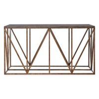Truss Console Table in Khaki