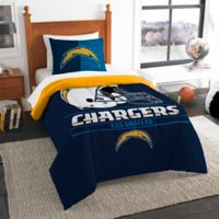 NFL Los Angeles Chargers Draft Twin Comforter Set