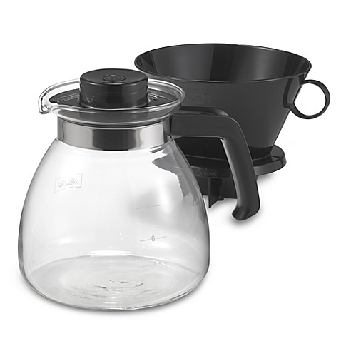 Melitta 174 Pour Over 10 Cup Coffee Maker With Glass Carafe