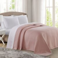 Charisma® Deluxe Woven Cotton King Blanket in Blush