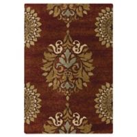 Aria Rugs Jacqueline Rouge 5-Foot 3-Inch x 7-Foot 6-Inch Rug
