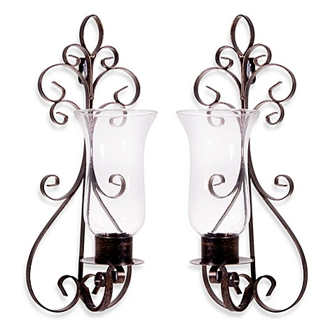 Portobello Metal Wall Sconces (2-Piece Set)