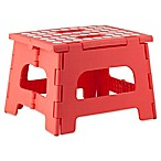 Kikkerland® Easy Folding Step Stool in Azalea