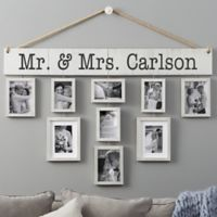 Wallverbs™ Our Wedding Personalized Hanging Frame Set