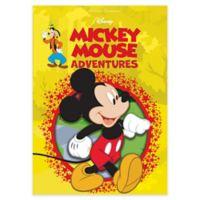 "Disney® ""Mickey Mouse Adventures"" Hardcover Book"