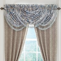 Croscill® Emery Waterfall Swag Window Valance in Blue