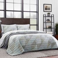 Eddie Bauer® Cannon Beach Twin Quilt Set in Blue