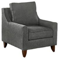 Avenue 405™ Gianni Upholstered Arm Chair in Charcoal