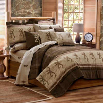 Browning Buckmark Twin Duvet Cover Set