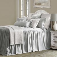 HiEnd Accents Luna King Bedspread Set in Grey