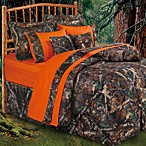 HiEnd Accents Oak Camo 7-Piece King Comforter Set in Camo