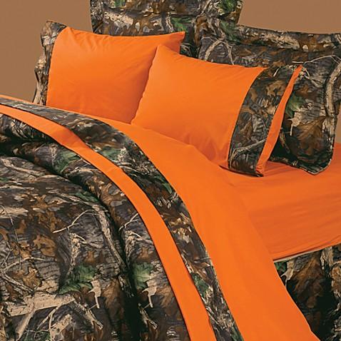 buy oak camo 3 piece twin sheet set from bed bath beyond