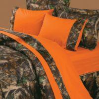 Oak Camo 4-Piece King Sheet Set