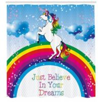 Ambesonne Unicorn 69-Inch x 70-Inch Shower Curtain