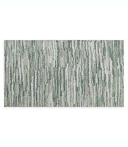Fashion Value Retro Tapete para baño de 60.96 cm x 1.01 m en gris verdoso