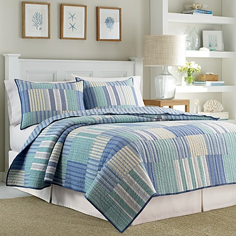 Nautica Belle Isle Reversible Quilt Bed Bath Beyond